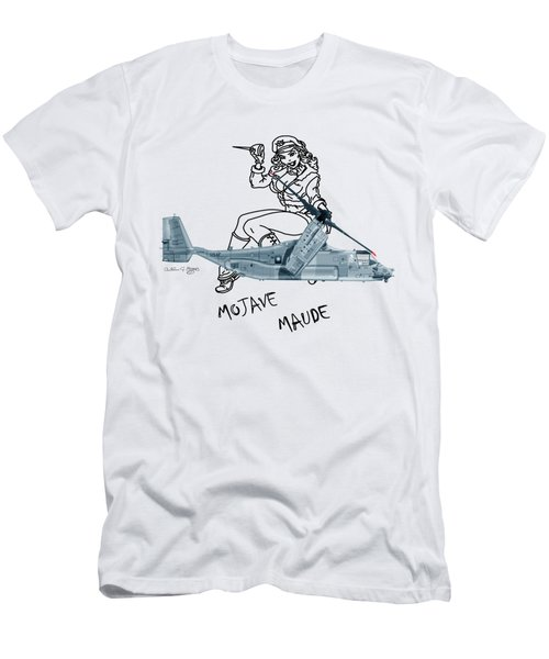 Bell Boeing Cv-22b Osprey Mojave Maude Men's T-Shirt (Athletic Fit)