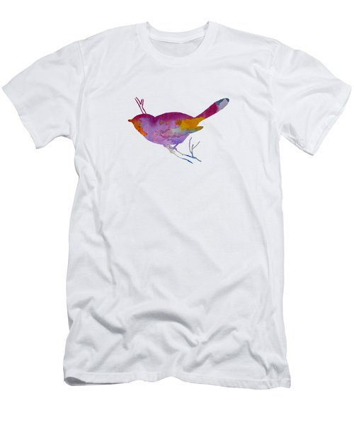 Chickadee Men's T-Shirt (Slim Fit) by Mordax Furittus