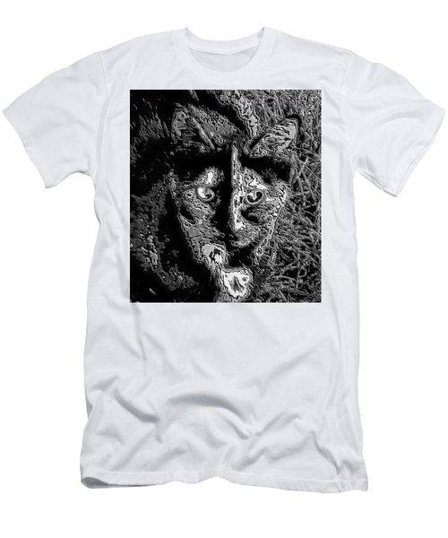 Coconut The Cat Men's T-Shirt (Athletic Fit)