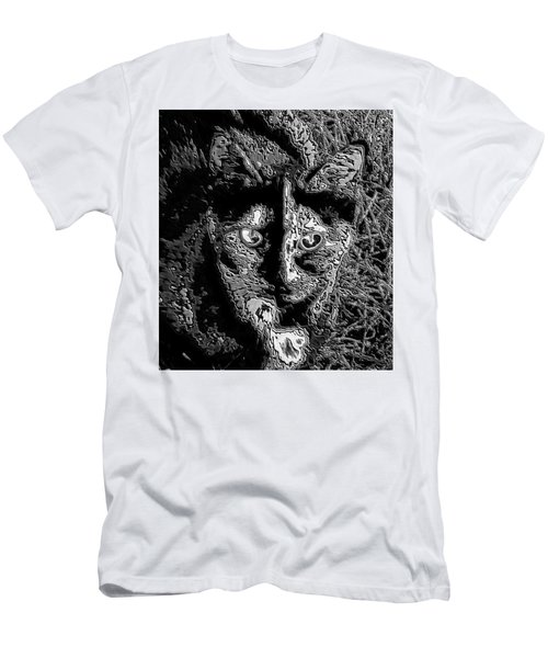 Coconut The Cat Men's T-Shirt (Athletic Fit)