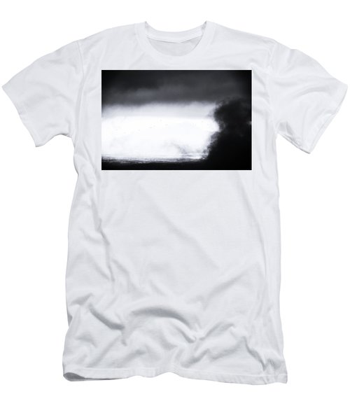 Coming In Men's T-Shirt (Slim Fit) by Jez C Self