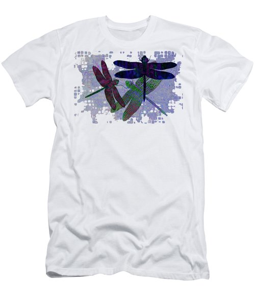 3 Dragonfly Men's T-Shirt (Athletic Fit)