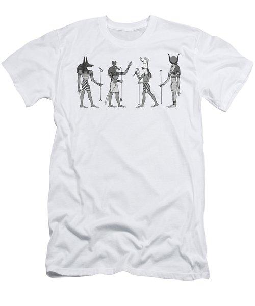 Gods Of Ancient Egypt Men's T-Shirt (Athletic Fit)