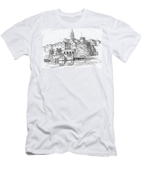 Men's T-Shirt (Slim Fit) featuring the photograph Korcula Croatia by Joseph Hendrix