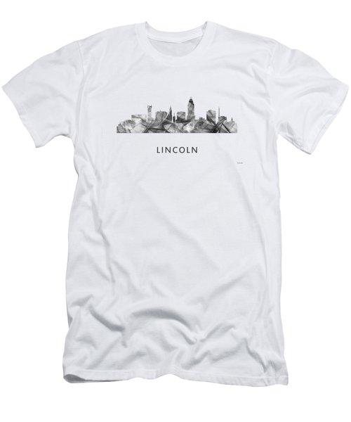 Lincoln Nebraska Skyline Men's T-Shirt (Athletic Fit)