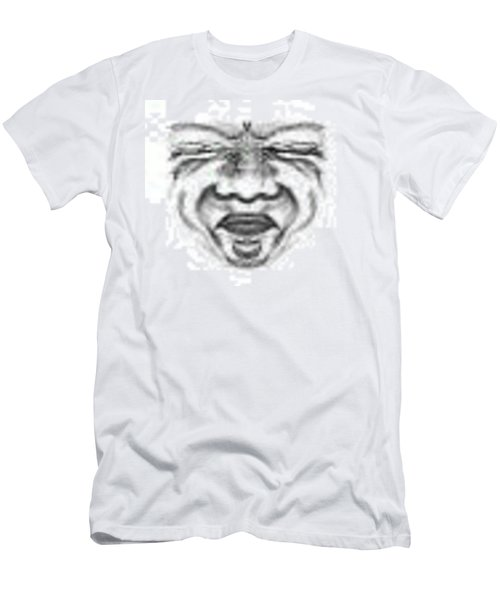 Magic Face Men's T-Shirt (Athletic Fit)