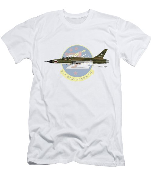Republic F-105g Wild Weasel 17ww Men's T-Shirt (Athletic Fit)