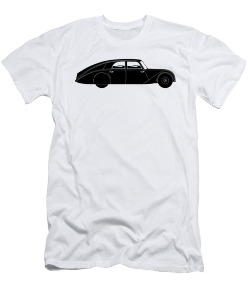 Men's T-Shirt (Slim Fit) featuring the digital art Sedan - Vintage Model Of Car by Michal Boubin