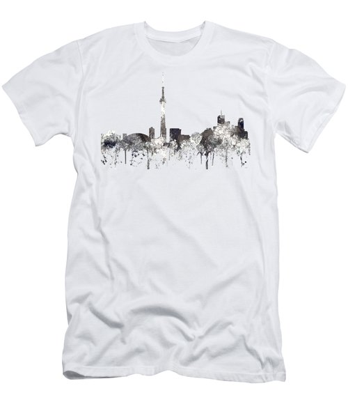 Toronto Ont.skyline Men's T-Shirt (Slim Fit)
