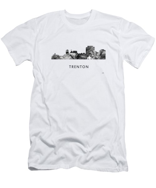 Trenton New Jersey Skyline Men's T-Shirt (Athletic Fit)