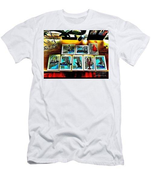 Vintage Map Art Men's T-Shirt (Slim Fit) by Scott D Van Osdol