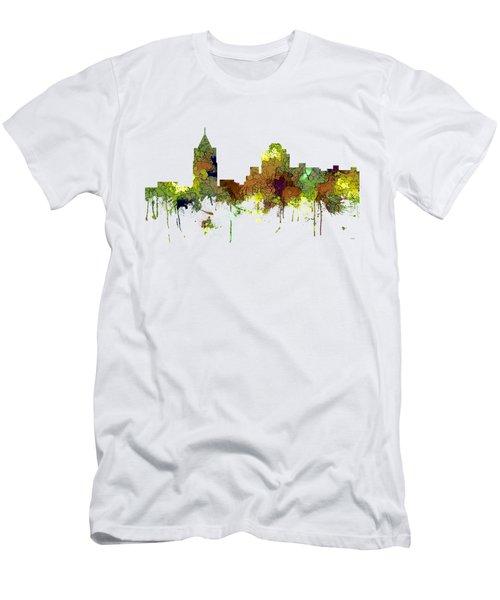 Virginia Beach  Virginia Skyline Men's T-Shirt (Athletic Fit)