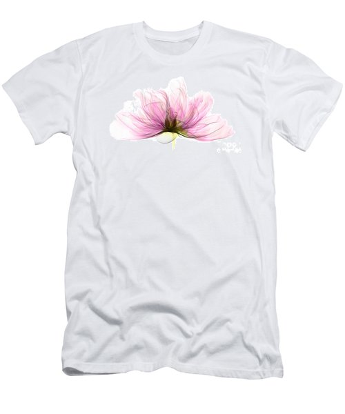 X-ray Of Peony Flower Men's T-Shirt (Athletic Fit)