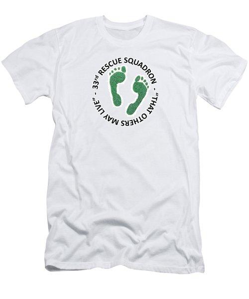 33rd Rescue Squadron Men's T-Shirt (Athletic Fit)