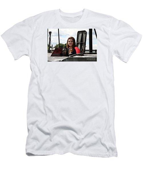 3597 Men's T-Shirt (Slim Fit) by Mark J Seefeldt