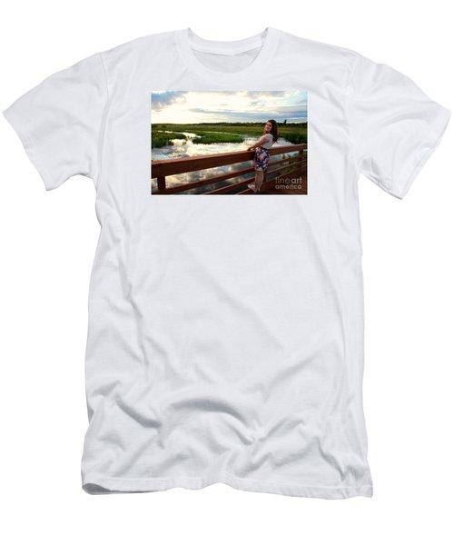 3740 Men's T-Shirt (Slim Fit) by Mark J Seefeldt