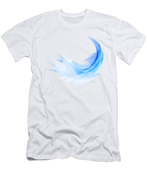 Abstract Feather Men's T-Shirt (Slim Fit) by Setsiri Silapasuwanchai