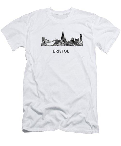 Bristol England Skyline Men's T-Shirt (Athletic Fit)