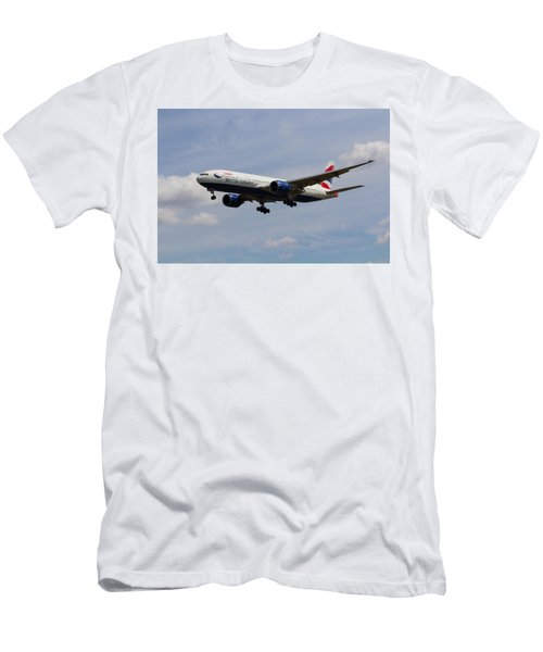 British Airways Boeing 777 Men's T-Shirt (Athletic Fit)