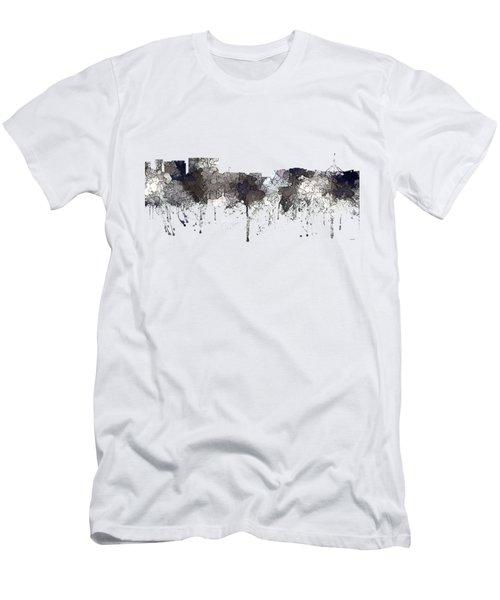 Canberra  Australia Skyline  Men's T-Shirt (Athletic Fit)