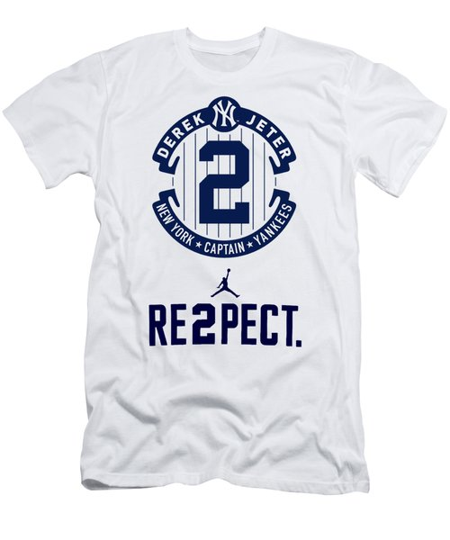 Derek Jeter Men's T-Shirt (Athletic Fit)