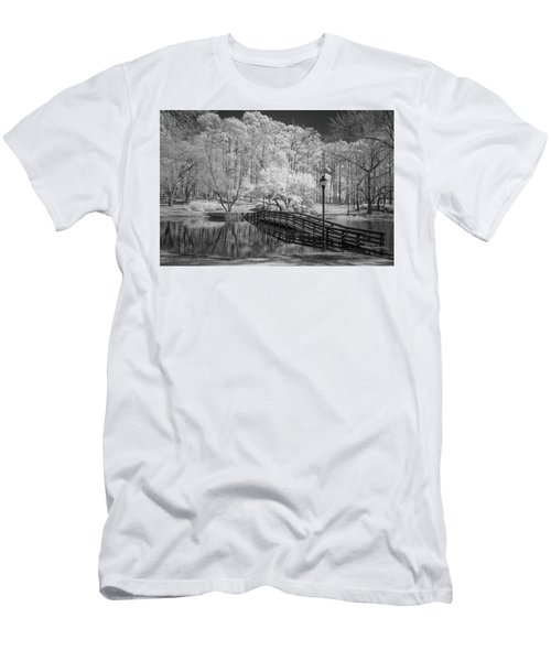 Bridge Over Water Men's T-Shirt (Athletic Fit)