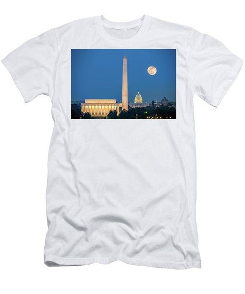 4 Monuments Men's T-Shirt (Athletic Fit)