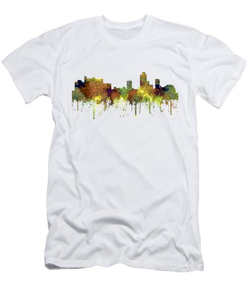 New Brunswick  New Jersey Skyline Men's T-Shirt (Athletic Fit)