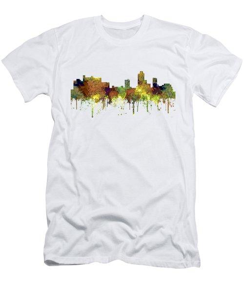 New Brunswick  New Jersey Skyline Men's T-Shirt (Athletic Fit)