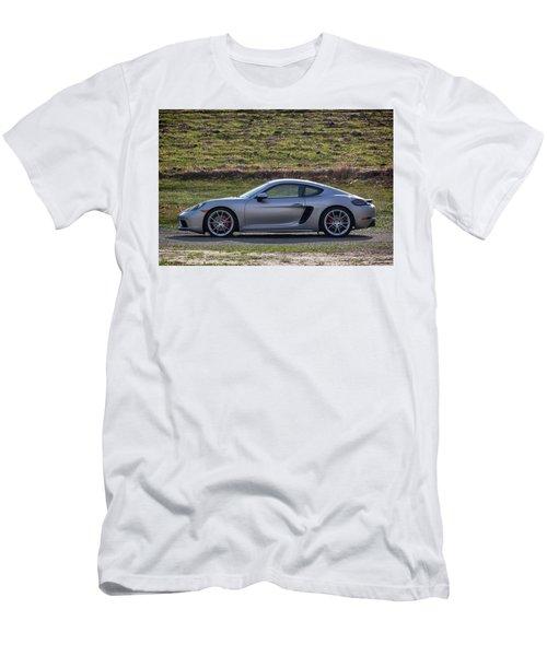 #porsche #718cayman S #print Men's T-Shirt (Athletic Fit)