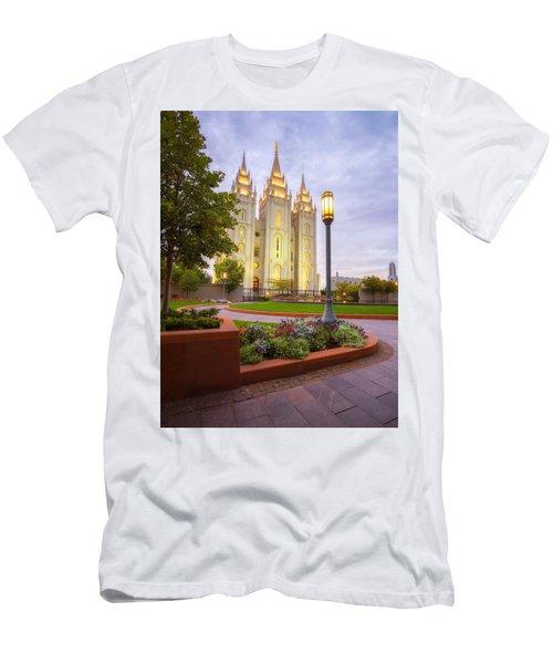 Salt Lake Temple Men's T-Shirt (Athletic Fit)
