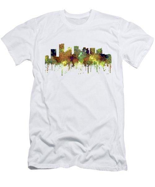 Scottsdale Arizona Skyline Men's T-Shirt (Athletic Fit)