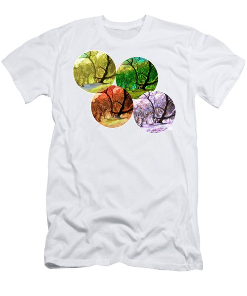 4 Seasons Men's T-Shirt (Athletic Fit)