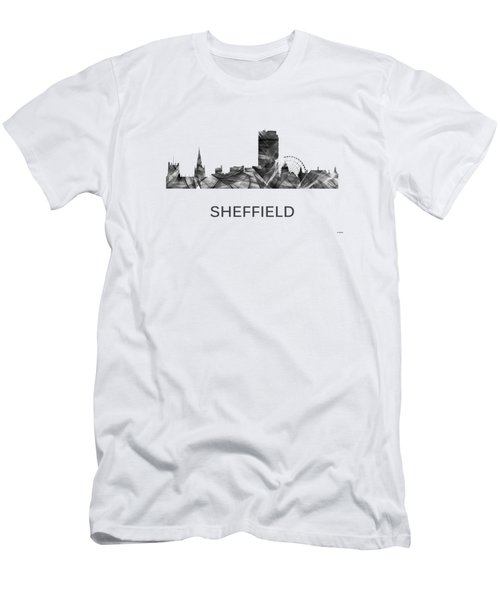 Sheffield England Skyline Men's T-Shirt (Athletic Fit)