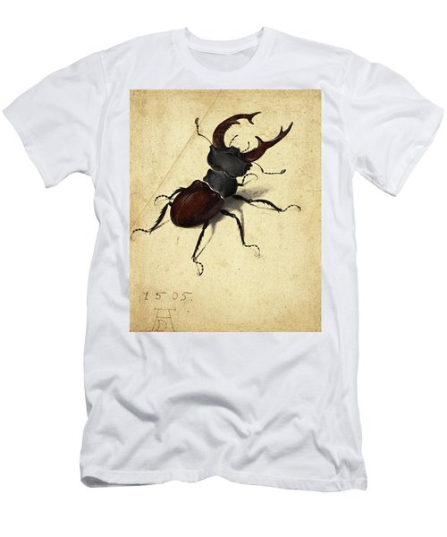 Stag Beetle Men's T-Shirt (Athletic Fit)