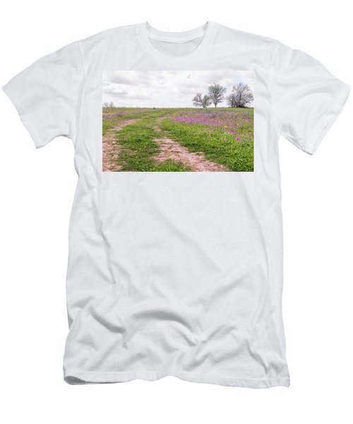 Texas Wildflowers 3 Men's T-Shirt (Athletic Fit)