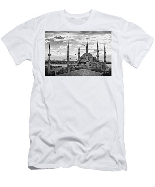 The Blue Mosque - Istanbul Men's T-Shirt (Slim Fit) by Luciano Mortula