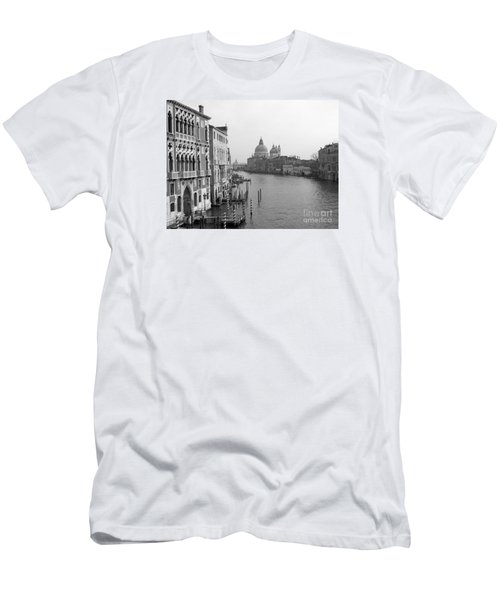 The Grand Canal In Venice Men's T-Shirt (Athletic Fit)