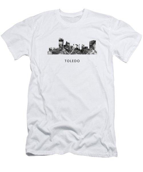 Toledo Ohio Skyline Men's T-Shirt (Athletic Fit)