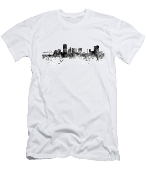Toledo Ohio Skyline Men's T-Shirt (Athletic Fit)