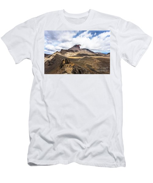 Tongariro Alpine Crossing In New Zealand Men's T-Shirt (Athletic Fit)