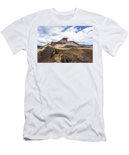 Tongariro Alpine Crossing In New Zealand Men's T-Shirt (Athletic Fit)