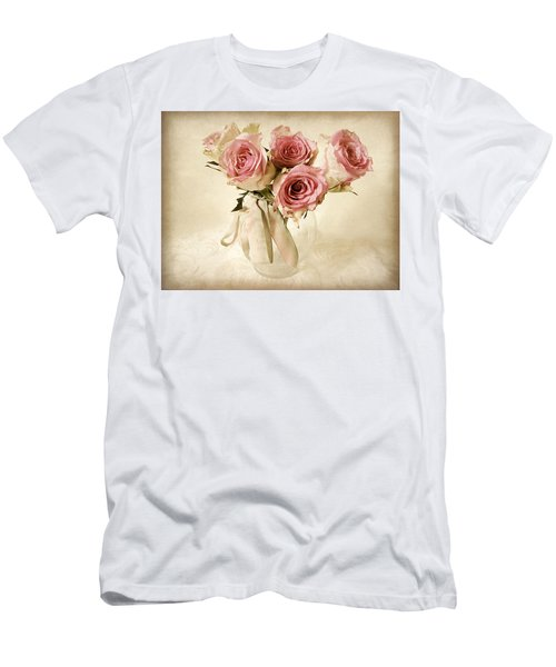 Vintage Bouquet Men's T-Shirt (Athletic Fit)