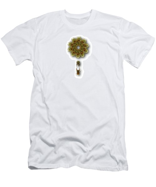 Men's T-Shirt (Slim Fit) featuring the photograph 4421 by Peter Holme III