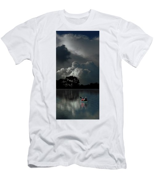 Men's T-Shirt (Athletic Fit) featuring the photograph 4477 by Peter Holme III