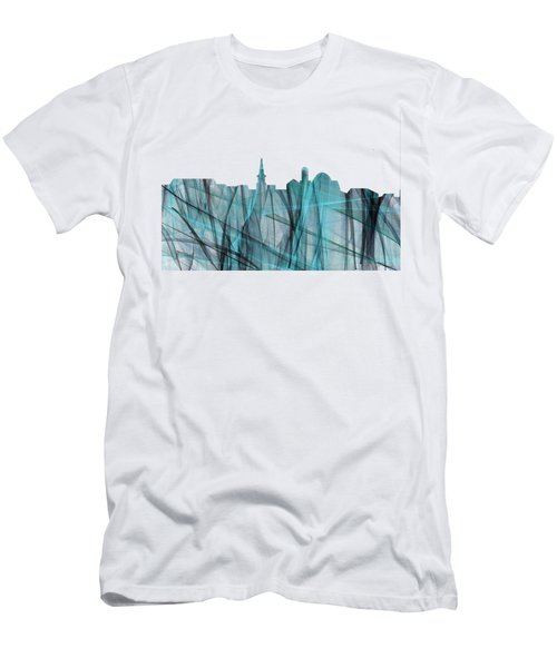 Alexandria Virginia Skyline Men's T-Shirt (Athletic Fit)