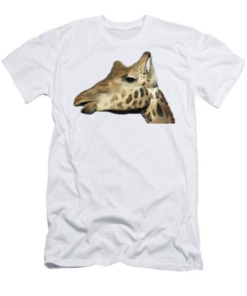 Baringo Giraffe Men's T-Shirt (Slim Fit) by George Atsametakis