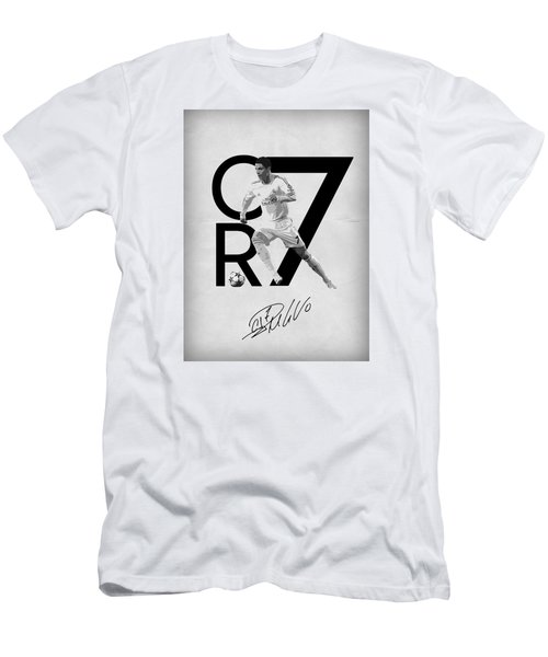Cristiano Ronaldo Men's T-Shirt (Slim Fit) by Semih Yurdabak