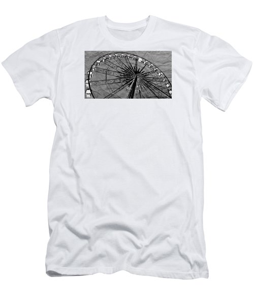 Men's T-Shirt (Slim Fit) featuring the photograph Ferris Wheel Impressions by Werner Lehmann