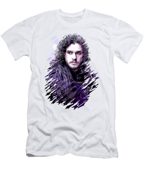 Game Of Thrones. Jon Snow. Men's T-Shirt (Athletic Fit)